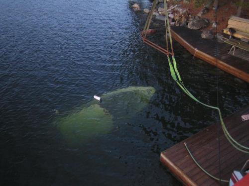 Bärgning båt 001