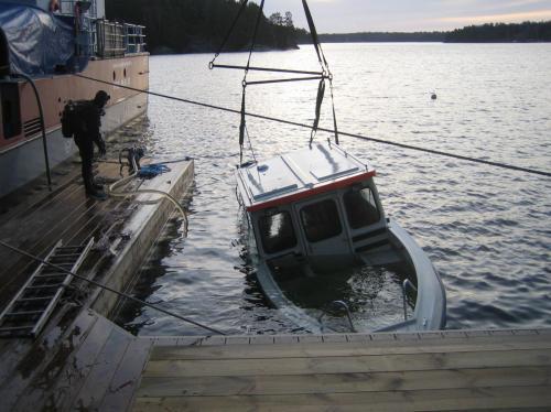 Bärgning båt 014